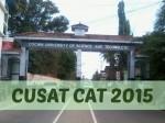 Cusat Cat Eligibility Criteria