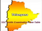 Telangana Ssc Public Examinations March 2015 Time Table