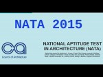 Nata 2015 Online Registration Starts From March