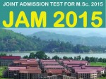 Joint Admission Test 2015 Mathematical Statistics Syllabus