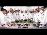 Top 10 Hotel Management Insititues India