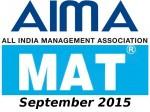 Mat September 2015 Exam Dates Announced