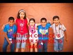 British Council Announces Annual Summer School Programme