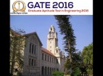 Gate 2016 Exam Time Table