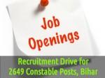 Recruitment Drive 2649 Constable Posts At Csbc Bihar