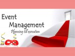 Event Management Most Sought After Career By Youth