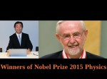 Nobel Prize 2015 Physics Is For The Discovery Of Neutrino Oscillations