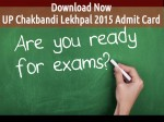 Up Chakbandi Lekhpal 2015 Download Admit Card Exam Pattern Syllabus