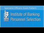 Ibps Cwe So Exam Pattern