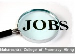Maharashtra College Of Pharmacy Recruitment For 13 Faculty Posts