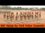 Ksp Hiring For 1952 Civil Police Constable Men And Women Posts