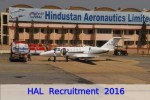 Hal Recruitment Drive 2016 For Various Posts