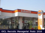 Indian Oil Corporation Limited Recruitment For Managerial Posts