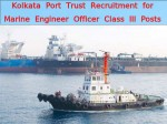 Kpt Recruitment For 5 Marine Engineer Officer Class Iii Posts