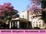 Nimhans Bengaluru Recruitment For 7 Research And Assistant Other Posts