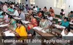 Telangana Tet 2016 Apply Online