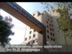 Iit Bhubaneswar Invites Applications For Ph D Programmes