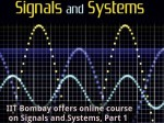 Iit Bombay Offers Online Course On Signals Systems Part