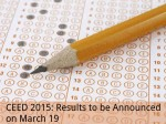 Ceed 2015 Results To Be Announced On March