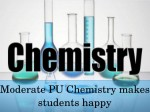 Chemistry Paper Analysis Karnataka 2nd Pu Board Exam