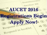 Aucet 2016 Registrations Begin Last Date To Register Is April