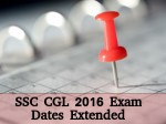 Ssc Combined Graduate Level 2016 Registration Dates Extended