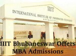 Iiit Bhubaneswar Offers Mba Admissions For 2016 Session