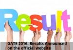 Gate 2016 Results Announced On The Official Website