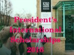 King S College London Uk Presidents International Scholarships