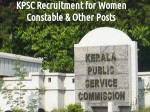 Kpsc Recruitment 2016 Vacancy For Women Constable Andother Posts