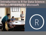 Introduction To R Data Science An Online Course By Microsoft
