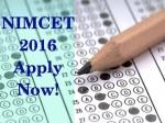 Nimcet 2016 Registrations Begin Apply Before April