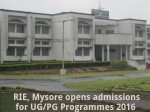Rie Mysore Opens Admission For Ug Pg Programmes