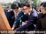 Gate 2016 Cut Off Marks Released