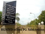 Rajiv Gandhi National Institute Of Youth Development Pg Admissions