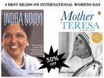 Best Reads On International Womens Day With 50 Percent Off