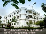 Iit Hyderabad Invites Applications For Phd Design Programme