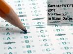 Karnataka Cet 2016 Exam Will Not Be Postponed