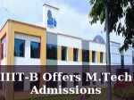 Iiit Bangalore Offers M Tech Admissions For 2016 Session