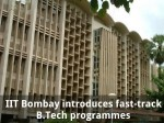 Iit Bombay Introduces Fast Track B Tech Programmes
