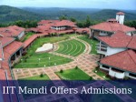 Iit Mandi Invites Applications For Pg Admissions