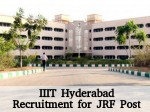 Iiit Hyderabad Recruitment For Junior Research Fellow Post