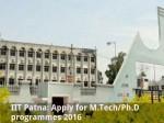 Iit Patna Apply For M Tech Ph D Programmes