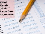 Kmat Kerala 2016 Exam Date Announced