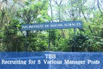 Tiss Is Hiring 2016 Vacancy For 5 Various Manager Posts Apply Now