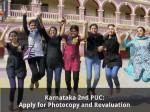 Karnataka 2nd Puc Apply For Photocopy And Revaluation