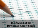 Ts Eamcet 2016 Download Admit Cards