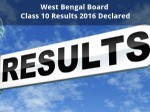 West Bengal Board Class 10 Results 2016 Declared
