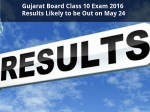 Gujarat Board Class 10 Results 2016 Likely To Be Out On May