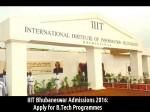 Iiit Bhubaneswar Admissions 2016 Apply For B Tech Programmes